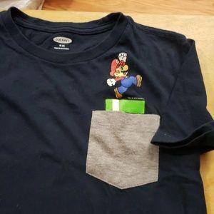 Nintendo Old Navy Mario Pocket Tee